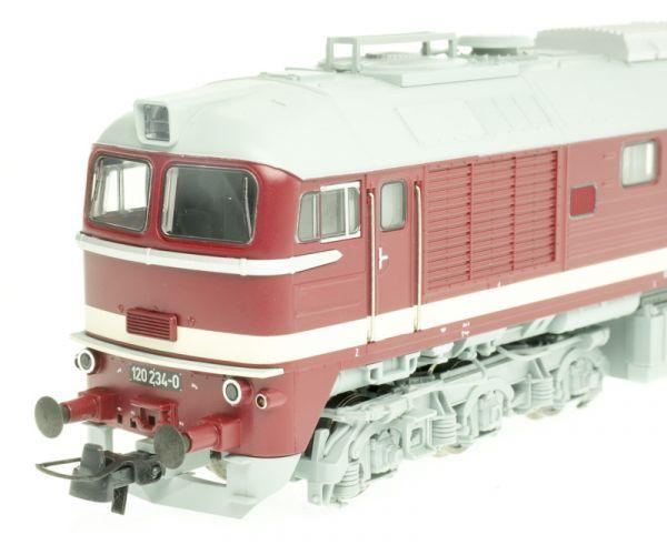 Roco 73802 Dízelmozdony BR 120 234-0 Szergej (Taigatrommel), DR IV
