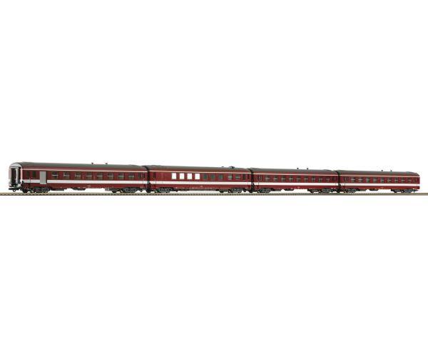 Roco 74110 Személykocsi szett Typ A9 Le Capitole, SNCF III, 2. szett