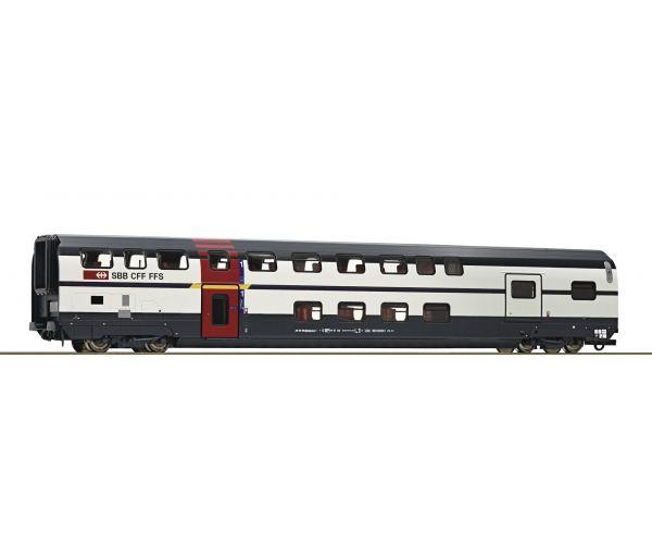 Roco 74501 Emeletes személykocsi poggyászszakasszal AD, IC 2000, SBB VI