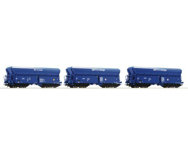 Roco 76078 Önürítős kocsiszett Fals, PKP VI