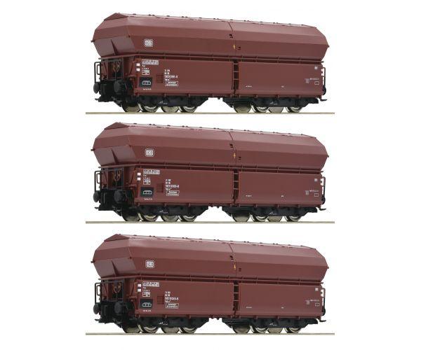 Roco 76079 Önürítős kocsi szett Tad-u 961, DB IV