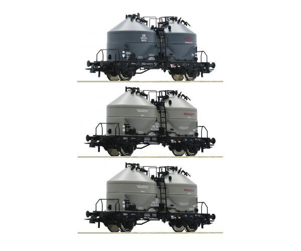 Roco 76093 Silókocsi szett Kds 54, DB III