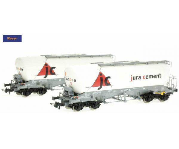 Roco 76146 Silókocsi szett Uacns, Jura Cement, VI