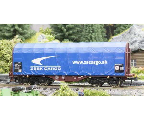Roco 76441 Eltolható oldalfalú ponyvás kocsi Shimmns, ZSSK Cargo VI