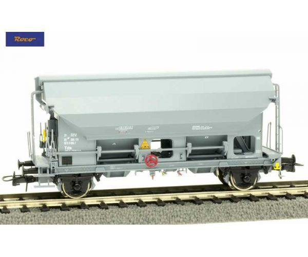 Roco 76582 Szétnyílótetejű kocsi Tds, SBB V-VI