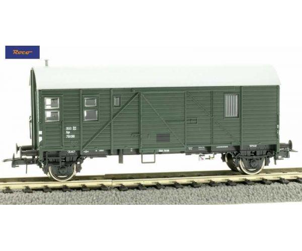 Roco 76681 Tehervonati kiszolgálókocsi Dgs, ÖBB III