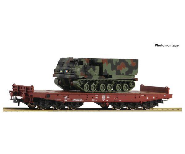 Roco 76954 Schwerlastwagen mit Panzer, FS epoche 5