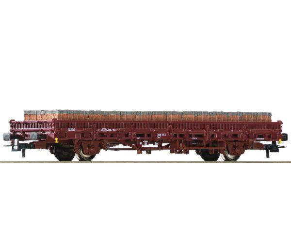 Roco 76987 Pőrekocsi Kbs, téglarakománnyal, DB AG VI