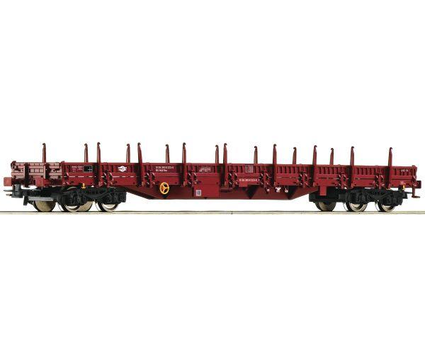 Roco 76989 Pőrekocsi rakoncákkal Res, MÁV VI