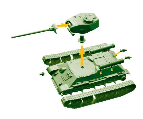 34102 Italeri T-34/85 World Of Tanks 1:72 Easy Kit