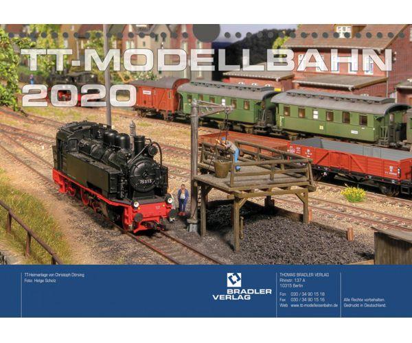 Tillig 09574 TT-Kalender 2020 (Bradler Verlag)
