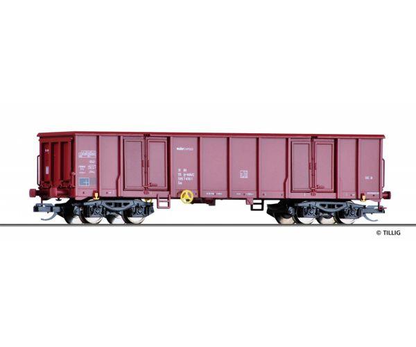 Tillig 15262 Nyitott teherkocsi Eas MÁV-Cargo VI