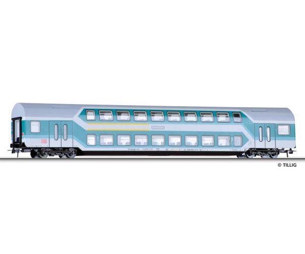 Tillig 73813 Emeletes személykocsi 1/2.o. DABz 756, DB AG V