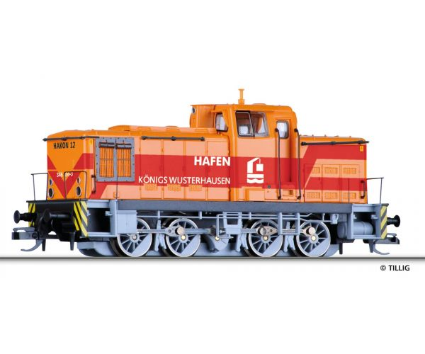 Tillig 96117 Dízelmozdony BR 346 171-2, LUTRA Hafengesellschaft VI