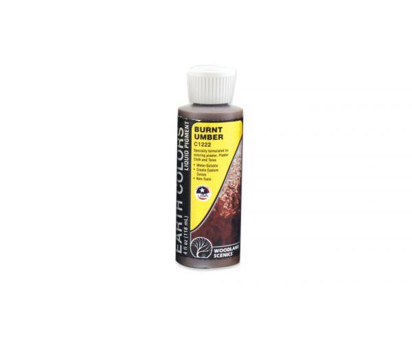 Woodlands C1222 Earth Colors Liquid Pigment színező, umbrabarna, 118 ml