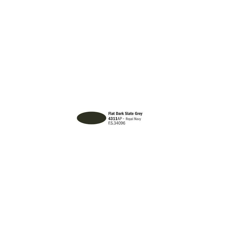 Italeri 4311AP matt sötét Slate szürke akril makett festék