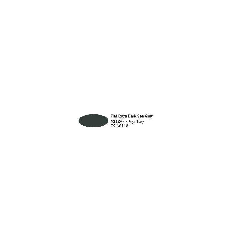 Italeri 4312AP matt Extra sötét Sea szürke akril makett festék