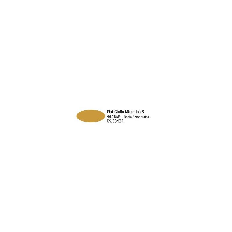 Italeri 4645AP matt Giallo Mimetico 3 akril makett festék