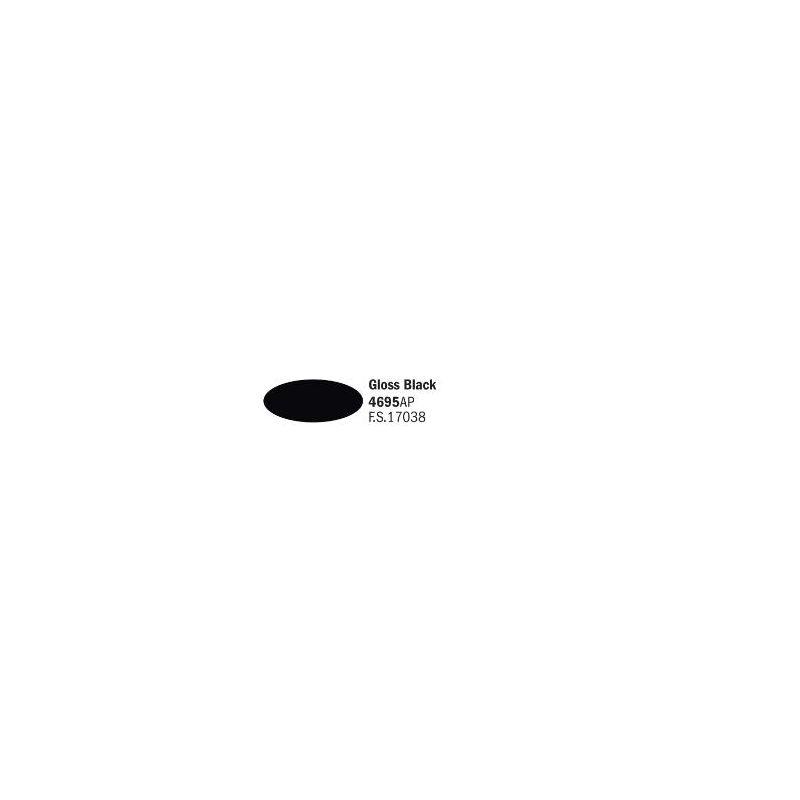 Italeri 4695AP fényes fekete akril makett festék