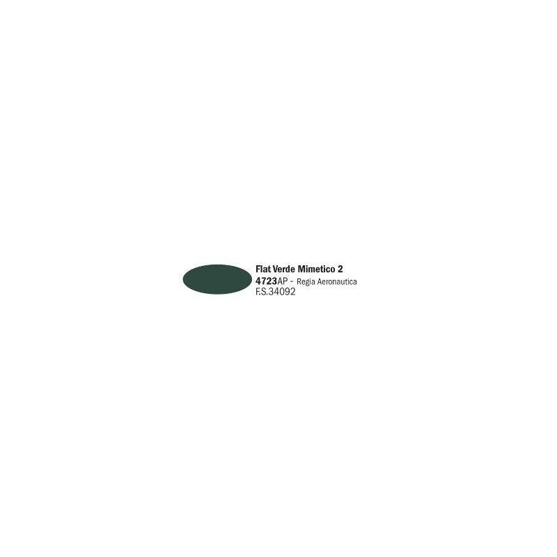 Italeri 4723AP matt Verde Mimetico 2 akril makett festék