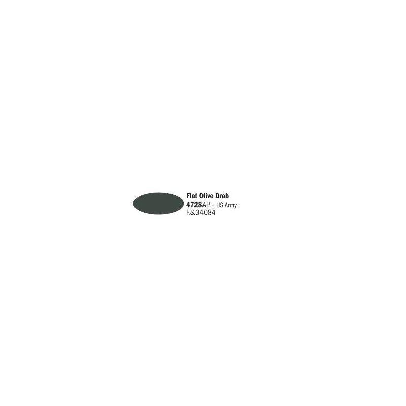 Italeri 4728AP matt Olive Drab US Army akril makett festék