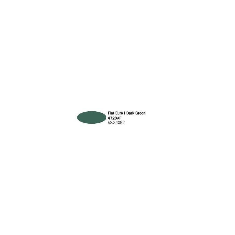 Italeri 4729AP matt Euro I sötét zöld akril makett festék