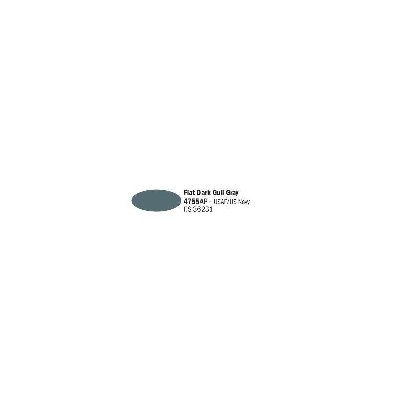 Italeri 4755AP matt sötét Gull szürke akril makett festék