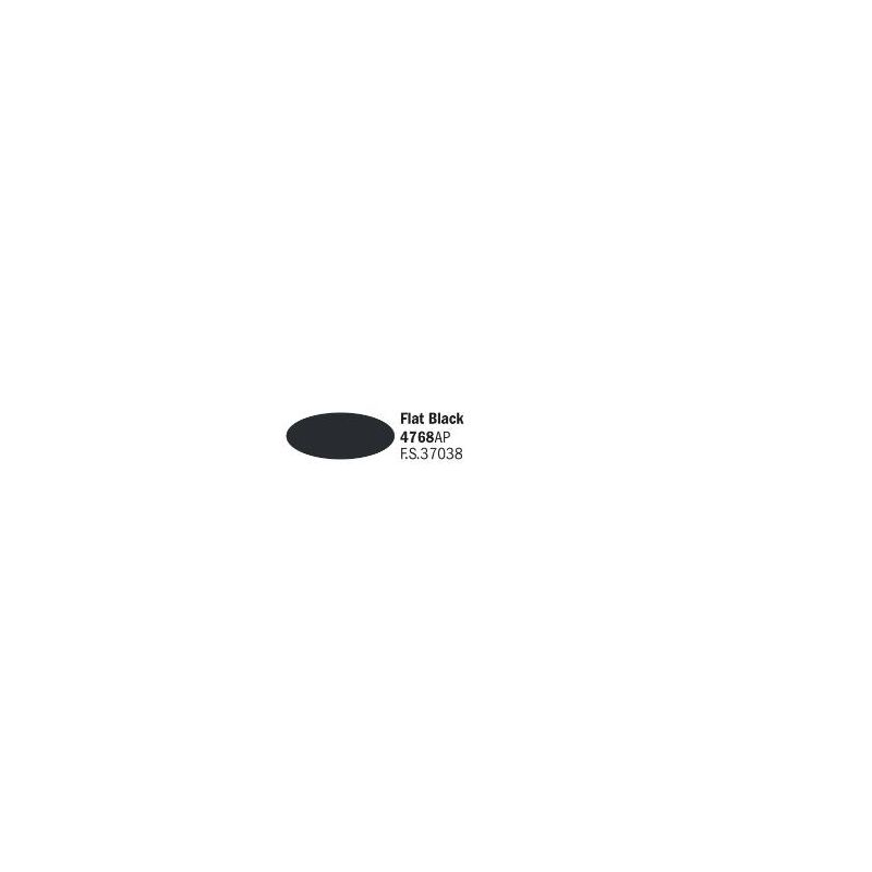 Italeri 4768AP matt fekete akril makett festék