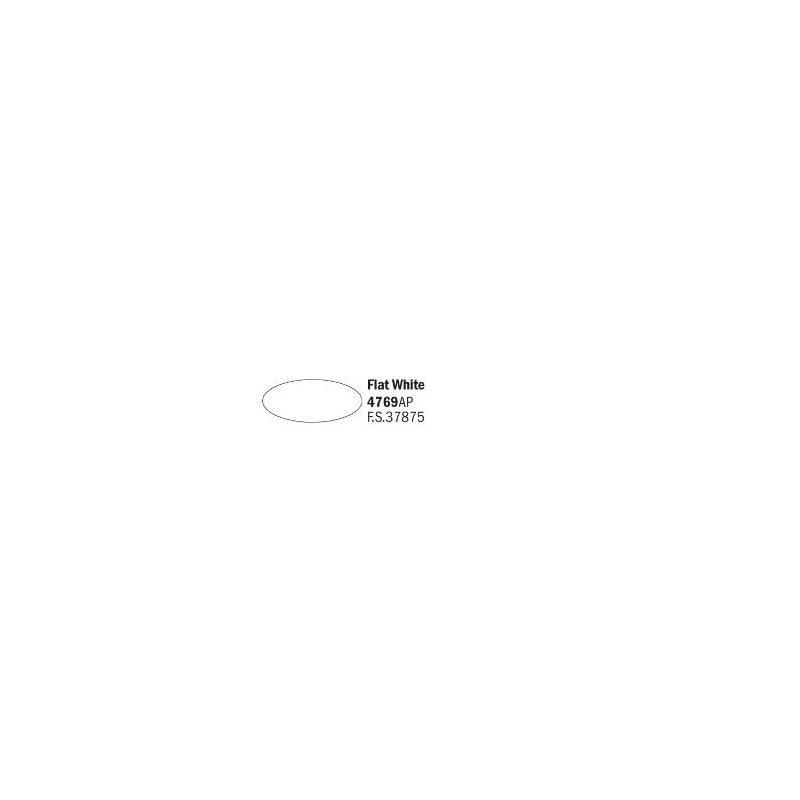 Italeri 4769AP matt fehér akril makett festék