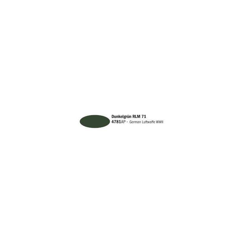 Italeri 4781AP Sötétzöld RLM 71 akril makett festék