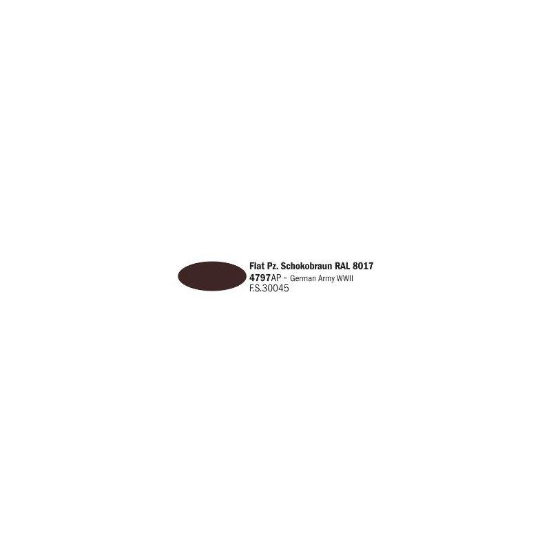 Italeri 4797AP matt Pz. Schokobraun RAL 8017 akril makett festék