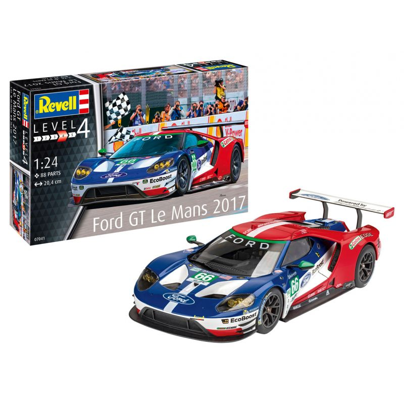 07041 REVELL Ford GT,  Le Mans 2017 1:24