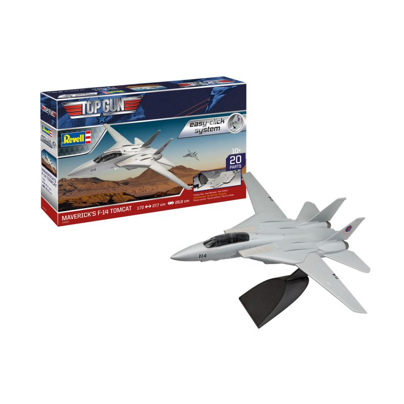 Revell 64966  Easy Click F-14 Tomcat Top Gun - Szett