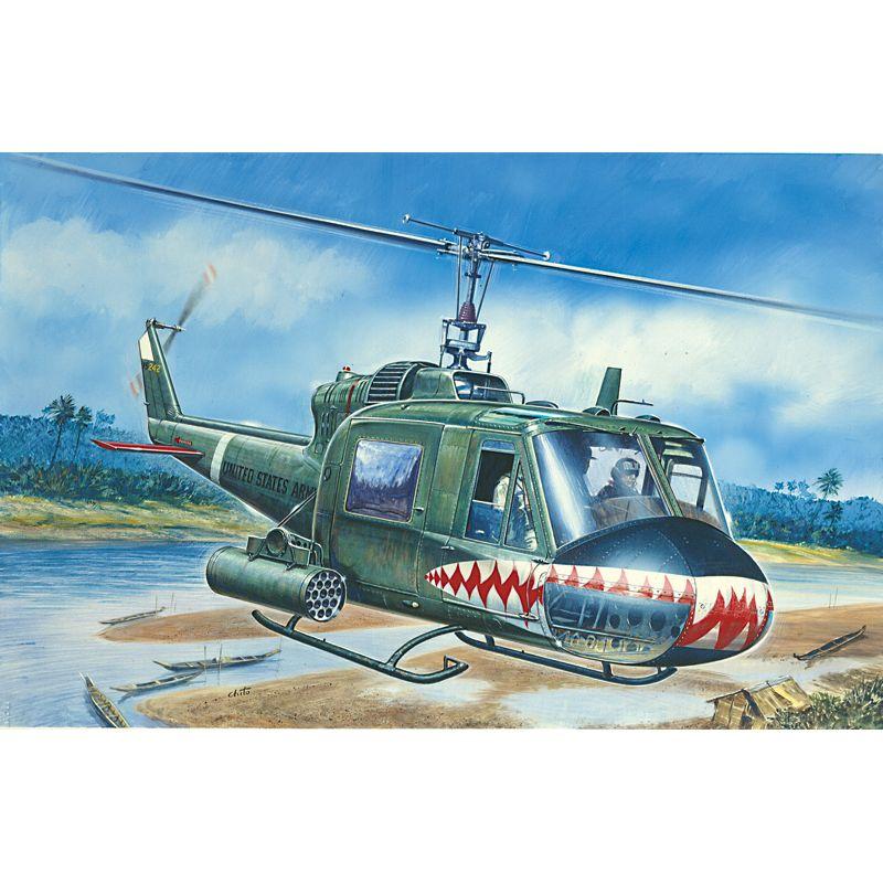 Italeri 71050 UH-1C GUNSHIP