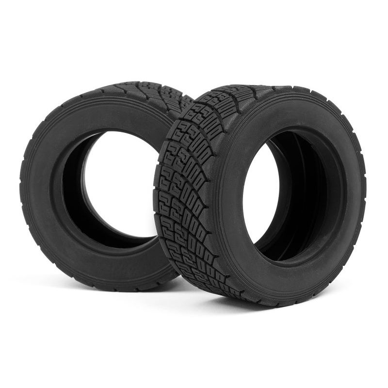 HPI 107977 WR8 RALLY OFF ROAD TIRE RED COMPOUND (2pcs)