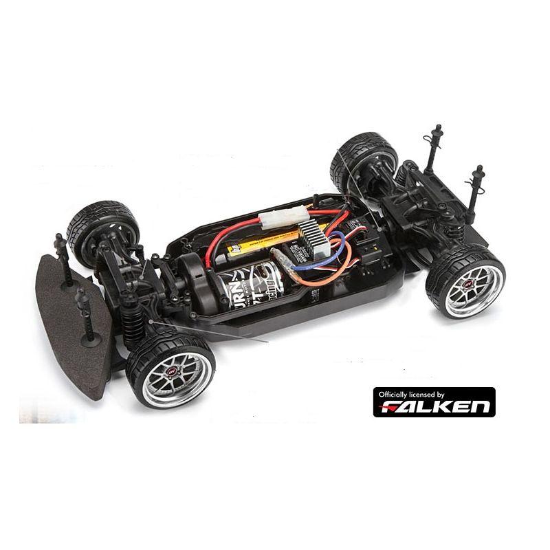 HPI E10 Drift Discount Tire/Falken Nissan S13
