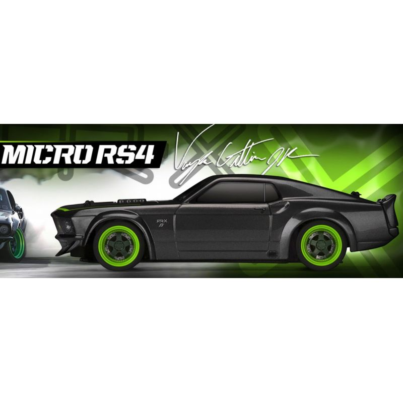 HPI Micro RS4 RTR 1969 Ford Mustang RTR-X