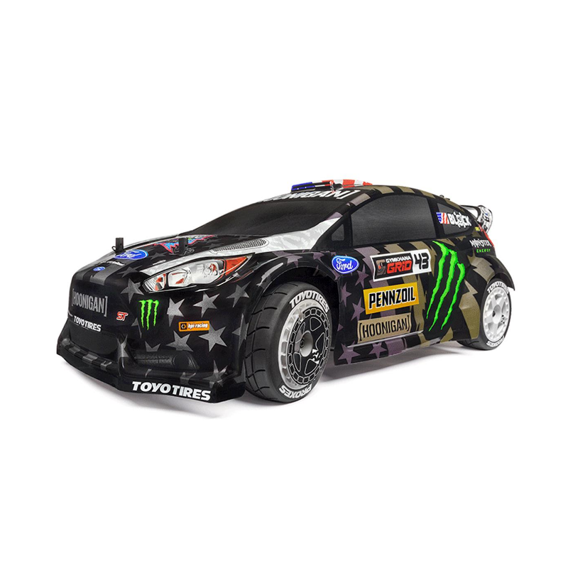 HPI 120036 WR8 FLUX Ken Block GYM8 Ford Fiesta ST RX43