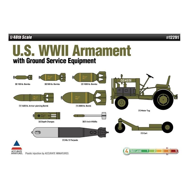 academy-12291-1-48-us-wwii-armament-w-ground-service-equipment