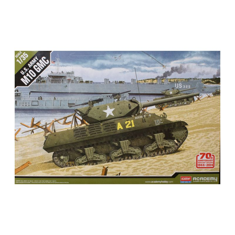 Academy 13288 1/35 M10 Anniv.70 Normandy Invasion 1944