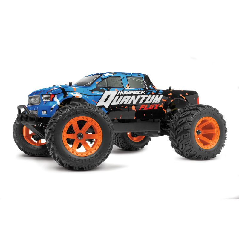 MAVERICK 150200 Quantum MT Flux 1/10 4WD Monster Truck - Blue