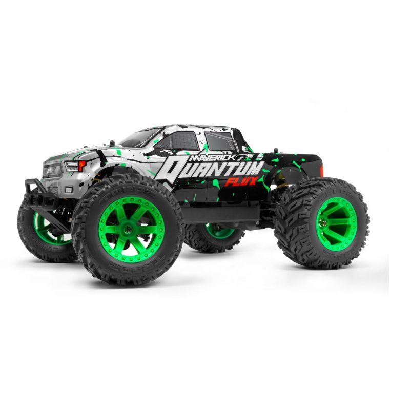 MAVERICK 150201 Quantum MT Flux 1/10 4WD Monster Truck - ezüst