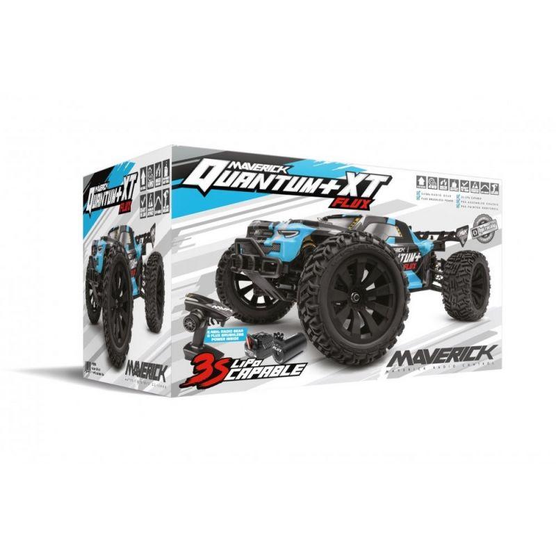 Quantum+ XT Flux 3S 1/10 4WD Stadium Truck - Blue
