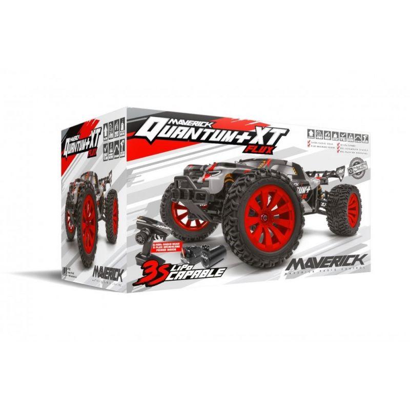 MAVERICK MV150301 Quantum+ XT Flux 3S 1/10 4WD Stadium Truck - Red