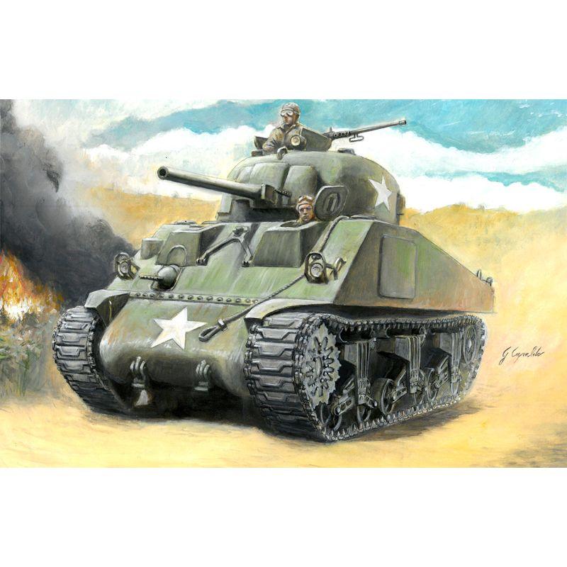 Italeri 15751 M4 SHERMAN 75mm