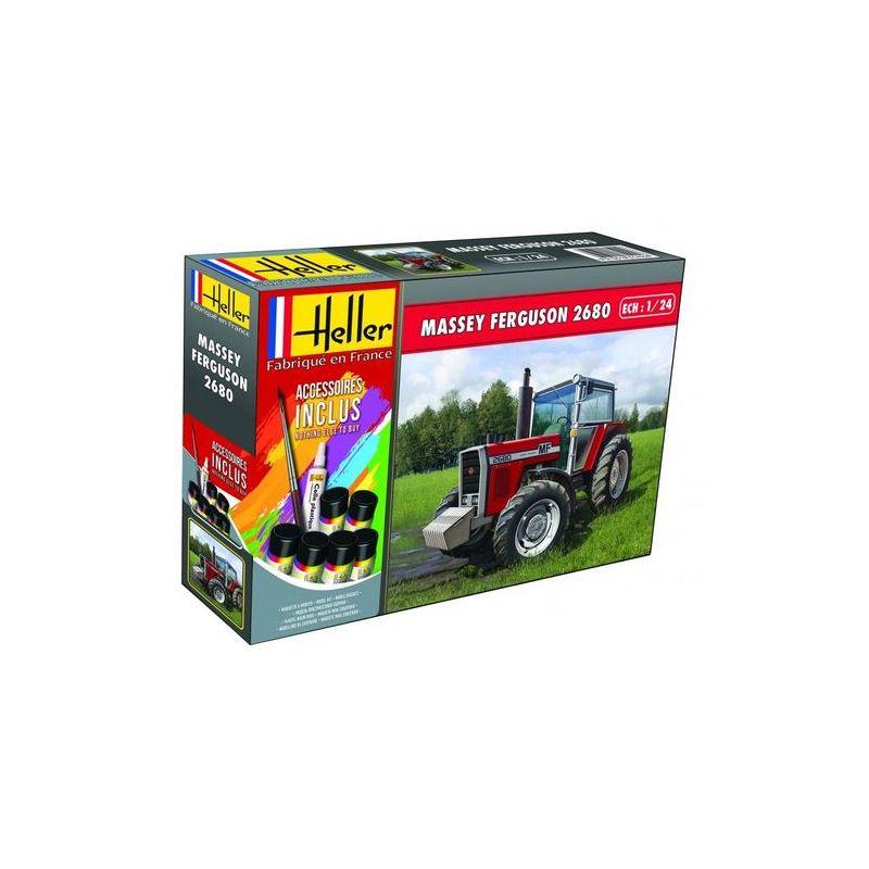Heller 57402 Massey-Ferguson 2680 Traktor makett