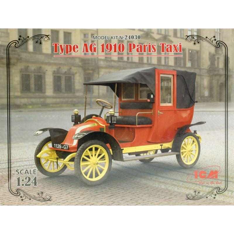 1910 Paris taxi