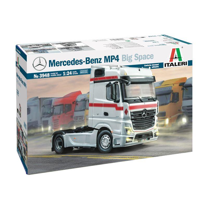 3948S ITALERI Mercedes-Benz MP4 Big Space 1:24