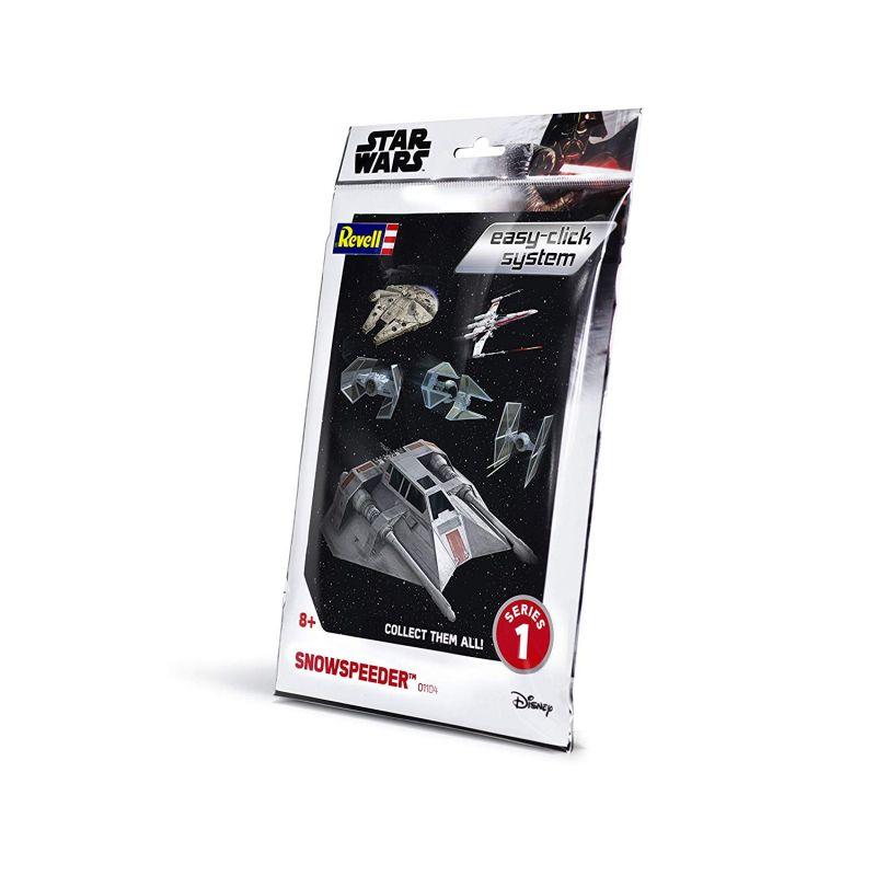Revell 01104 Revell Star Wars Snowspeeder easy click 1:52 (1104)