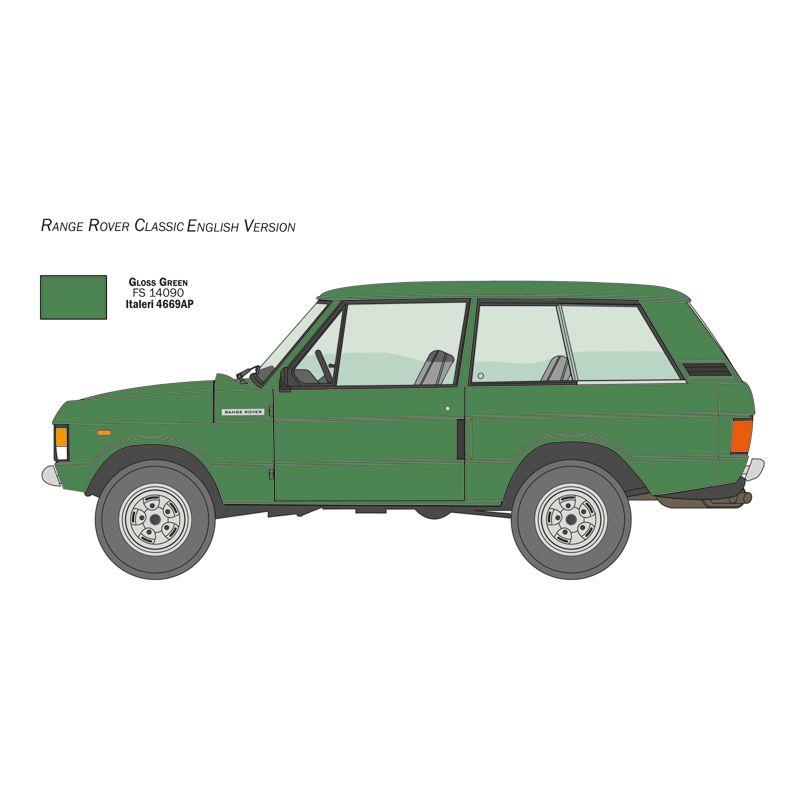 3644S  ITALERI Range Rover Classic 1:24